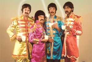 While Spinal Tap took the formula to unparalleled heights, The Rutles set the ball rolling and remains an amusingly ramshackle spoof