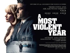 An assured step forward in Chandor's so-far unblemished copybook, A Most Violent Year is a timeless and engrossing chapter in America's cinematic crime genre