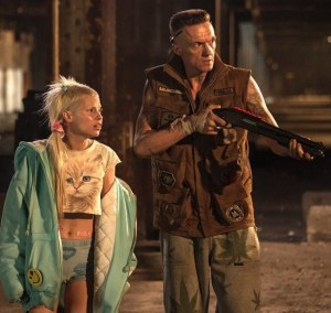 Street thugs Ninja (Ninja) and Yolandi (Yolandi Visser) in Chappie