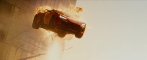 A typically understated scene from Fast And Furious 7