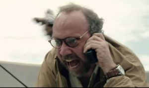 """You're not paying me enough!"" - Paul Giamatti plays seismologist Lawrence Hayes in San Andreas"