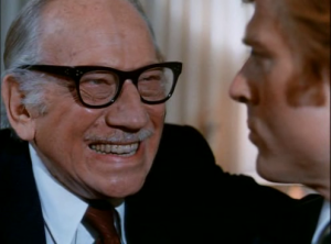 Father and son: John J McKay (Melvyn Douglas) and Bill McKay (Robert Redford) in The Candidate