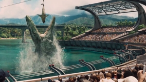The Mosasaurus jumps the shark in Jurassic World