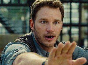 Isla Nublar's resident hunk Owen Grady (Chris Pratt) in Jurassic World
