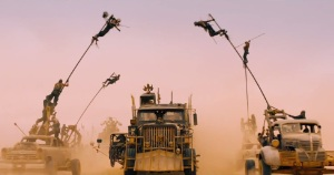 The polecats get in on the action in Mad Max: Fury Road