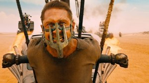 Bane of existemce: Max (Tom Hardy) in Mad Max: Fury Road