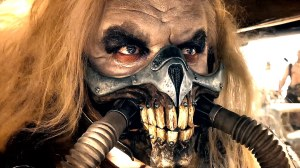 Immortan Joe (Hugh Keays-Byrne) goes in search of his wives in Mad Max: Fury Road