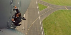 Just another day at the office: Tom Cruise plays Ethan Hunt in Mission: Impossible - Rogue Nation