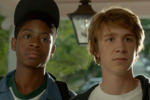 Me and Earl: Greg (Thomas Mann) and Earl (Ronald Cyler II) IN Me And Earl And The Dying Girl