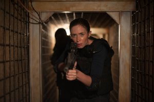 Tunnel vision: FBI agent Kate Macer (Emily Blunt) in Sicario