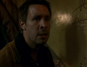 Johnny (Paddy Considine) is a man on the edge in In America