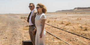 007 (Daniel Craig) and Bond girl Madeleine Swann (Léa Seydoux) in Spectre