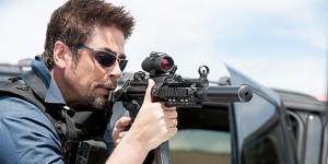 The Wolfman: Alejandro Gillick (Benicio del Toro) in Sicario