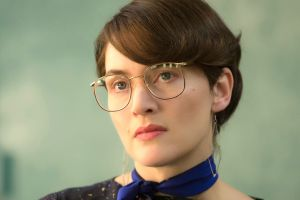 Dude, where's my accent: Apple marketing chief Joanna Hoffman (Kate Winslet) in Steve Jobs