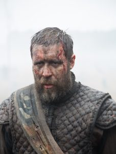 Banquo (Paddy Considine) ain't too happy in Macbeth