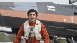 Ace pilot Poe Dameron (Oscar Isaac) in Star Wars Episode VII - The Force Awakens