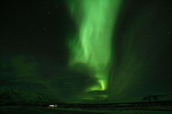 The Northern Lights in all their splendour