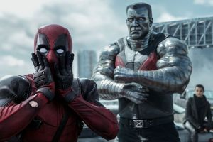Deadpool (Ryan Reynolds), Colossus (Stefan Kapičić) and Negasonic Teenage Warhead (Brianna Hildebrand) in Deadpool
