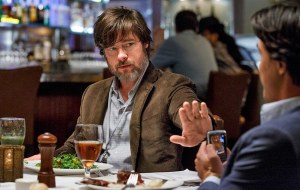 Former trader Ben Rickert (Brad Pitt) finds himself back in the game in The Big Short