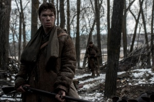 Mountain man: Jim Bridger (Will Poulter) in The Revenant
