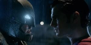 It's mano e mano in Batman vs Superman: Dawn Of Justice