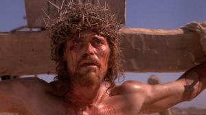 Jesus (Willem Dafoe) faces his last temptation in The Last Temptation Of Christ