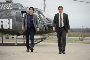 NSA agent Paul Sevier (Adam Driver) and FBI Agent Miller (Paul Sparks) go after Alton in Midnight Special