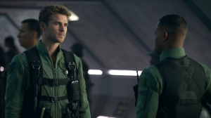 Top guns: Space pilots Jake Morrison (Liam Hemsworth) and Dylan Dubrow-Hiller (Jessie Usher) in Independence Day: Resurgence