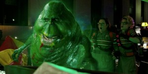 Slimer makes an unwelcome appearance in Ghostbusters