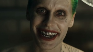 Jared Leto plays the Clown Prince of Crime in Suicide Squad