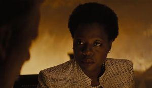 The wall: Viola Davis as the decidedly unpleasant Amanda Waller in Suicide Squad