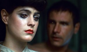 Robot love: Deckard (Harrison Ford) and Rachael (Sean Young) in Blade Runner: The Final Cut