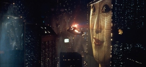 The rain-soaked dystopia on 2019-era LA in Blade Runner: The Final Cut