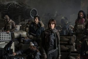The crew of Rogue One