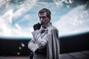 The fanatical Director Krennic (Ben Mendelsohn) in Rogue One